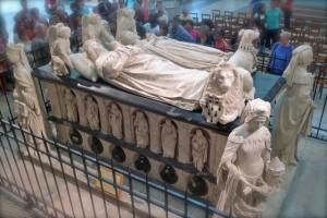 Le tombeau de François II à la cathédrale de Nante