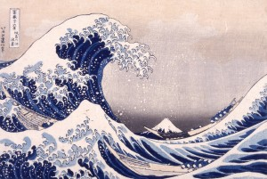 La Grande Vague d'Hokusai