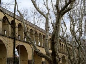 Le viaduc des Arceaux à Montpellier