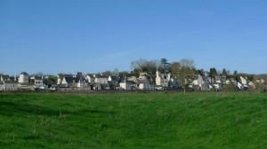 Depuis une ile de la Loire