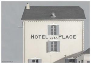 L'hôtel de la plage de M. Hulot par David Merveille