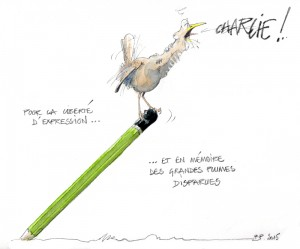 Charlie par Benoît Perrotin