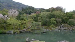 Jardin Tenryu-ji (XIVe siècle). Arashiyama.