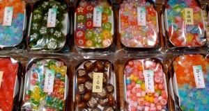 Bonbons japonais sur Shijo-dori