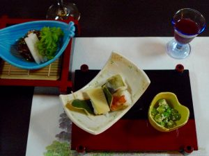 "Repas ""Kaiseki"" japonais"